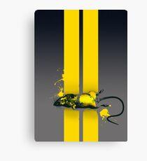 Roadkill poster Canvas Print