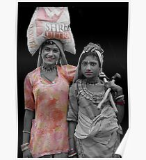 Gipsies of Jaisalmer - Rajasthan India Poster