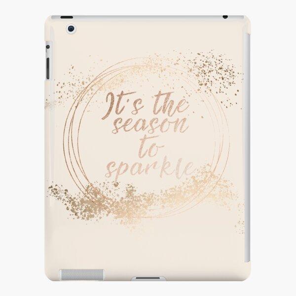 Gold sparkly Christmas decor iPad Snap Case