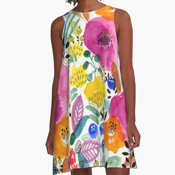 Delightful garden A-Line Dress