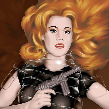 Barbarella by charlizeart