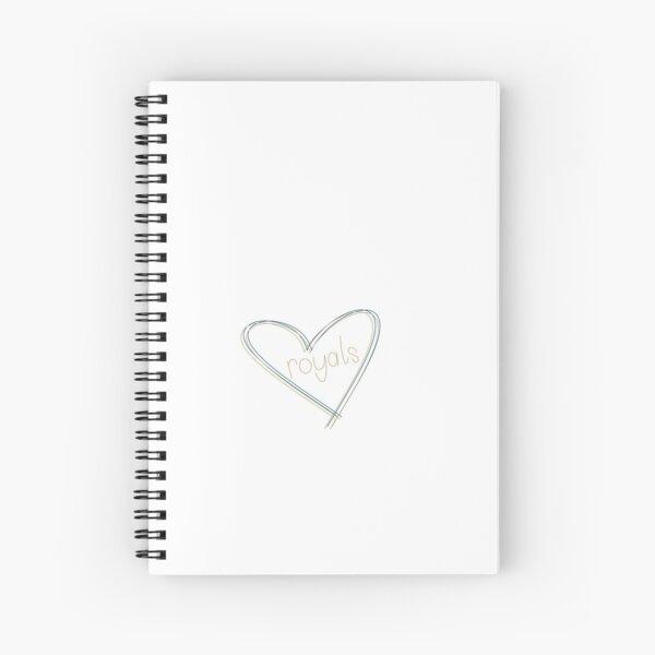 Royals love Spiral Notebook