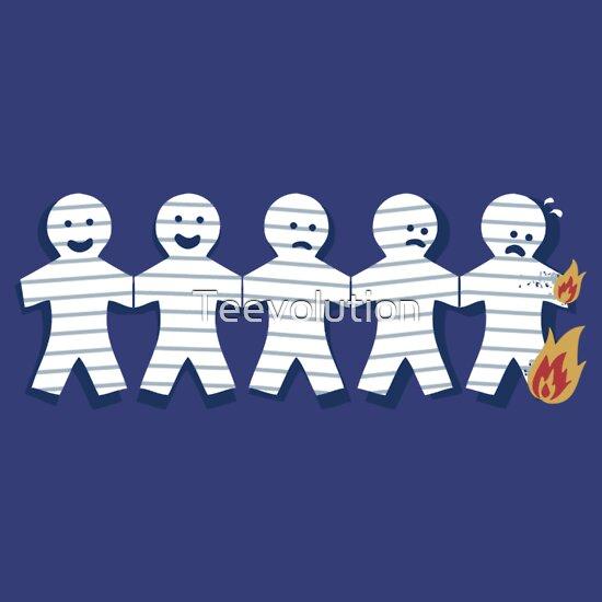 TShirtGifter presents: Paperman Fire
