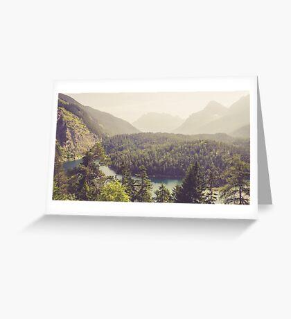 Zugspitzblick - Austrian Alps Greeting Card