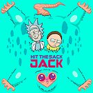 Hit The Sack Jack - Rick and Morty Beebo Blanket by tduffy