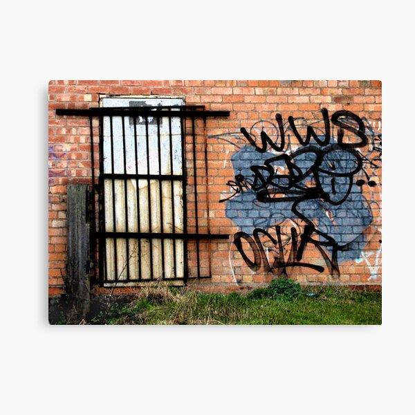 Urban Decay #3 Canvas Print