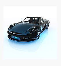 Porshe - 3D Render Photographic Print
