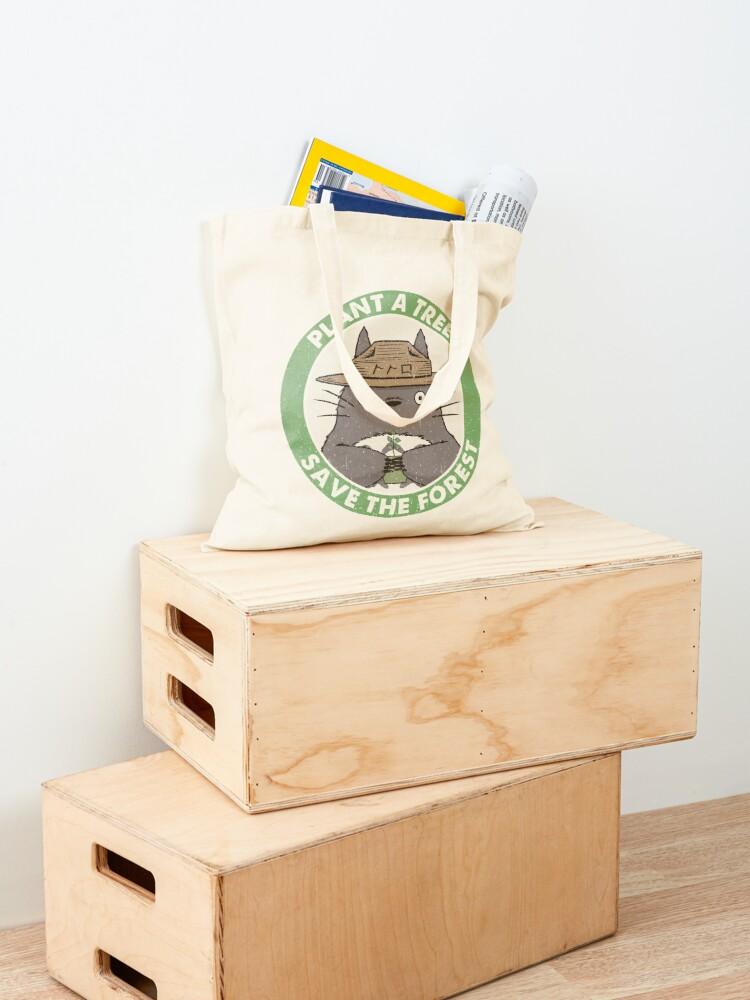 Alternate view of Save the Forest Tote Bag