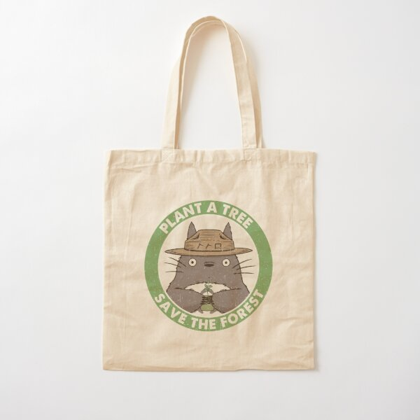 Save the Forest Cotton Tote Bag