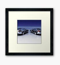 Mercedes 3D Render Framed Print