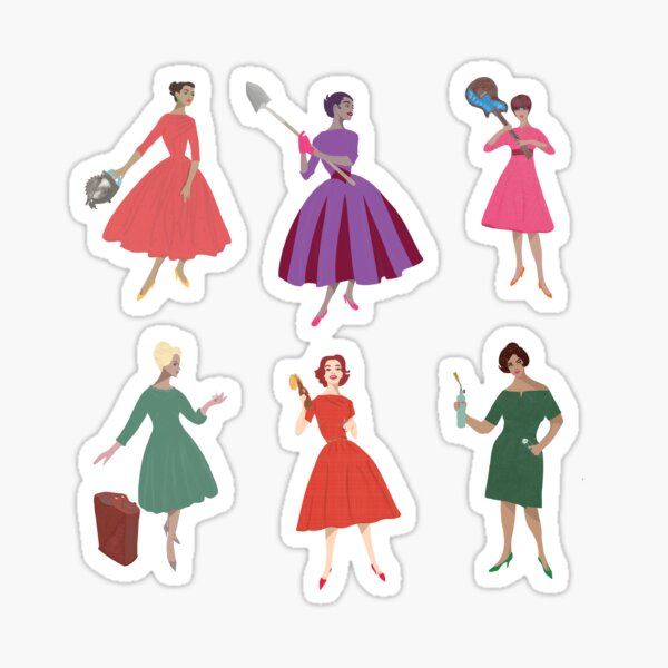Madge Sticker Party 6-Pack Circular Saw Shovel Guitar Gas Can Molotov Blowtorch Sticker