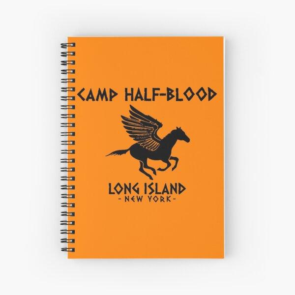 Camp Half-Blood logo Spiral Notebook