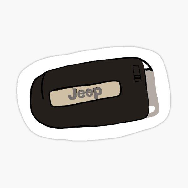 Jeep Key  Sticker