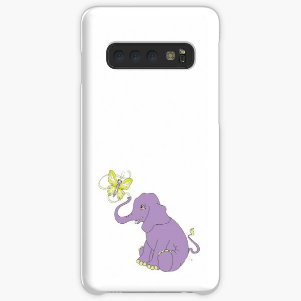 Elephant and Butterfly Samsung Galaxy Snap Case