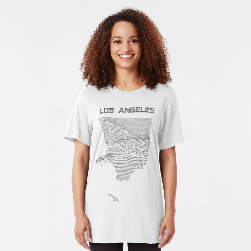 Unknown Elevations - Los Angeles (grey) Slim Fit T-Shirt
