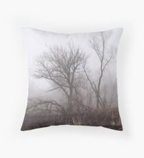 After The Brush Fire Throw Pillow
