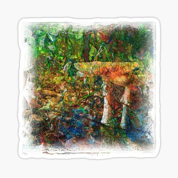 The Atlas Of Dreams - Color Plate 60 Sticker