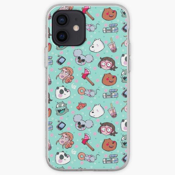 We Bare Bears Friends Funda blanda para iPhone