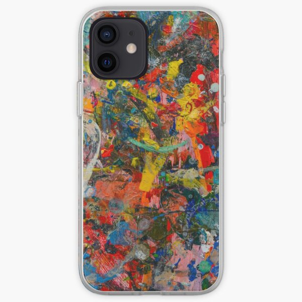 Couette Abstraite Coque souple iPhone