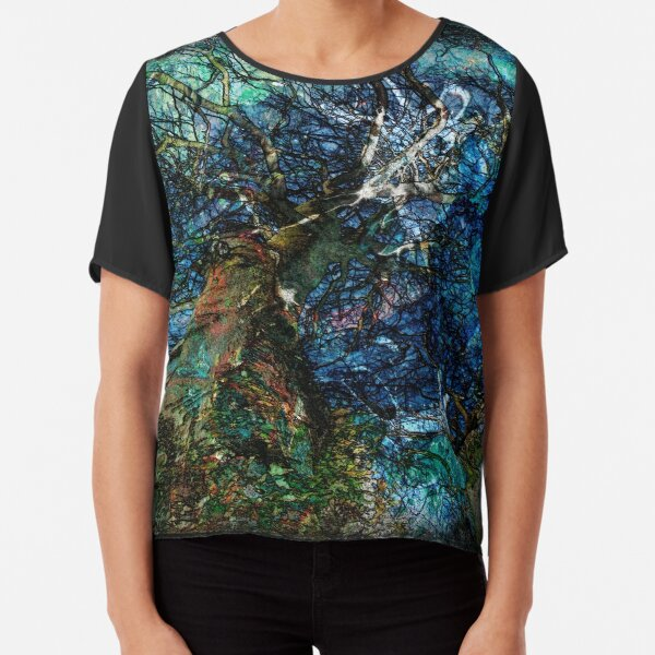 The Atlas Of Dreams - Color Plate 62 Chiffon Top