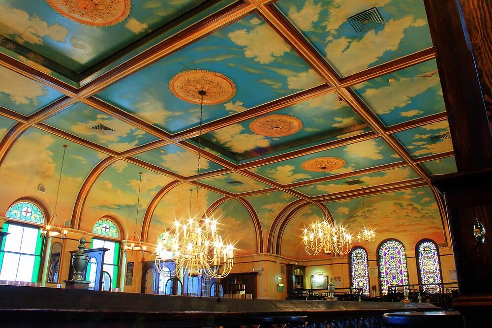 Salem Baptist Chapel Ceiling by Dave Godden