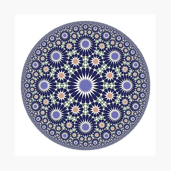 Hyperbolic star pattern Photographic Print