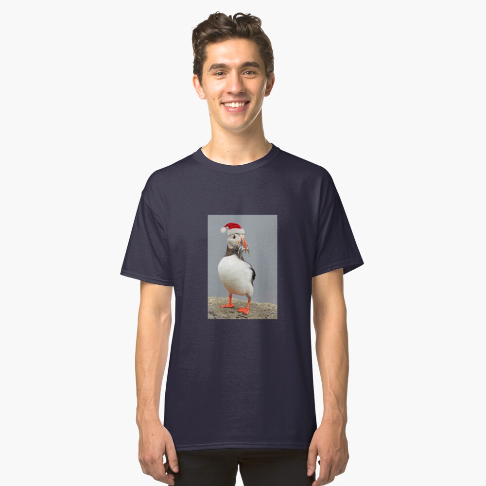 Holiday Puffin Classic T-Shirt