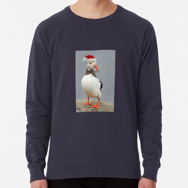 Holiday Puffin Lightweight Sweatshirt