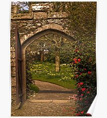 Welcome to Cotehele Gardens Poster