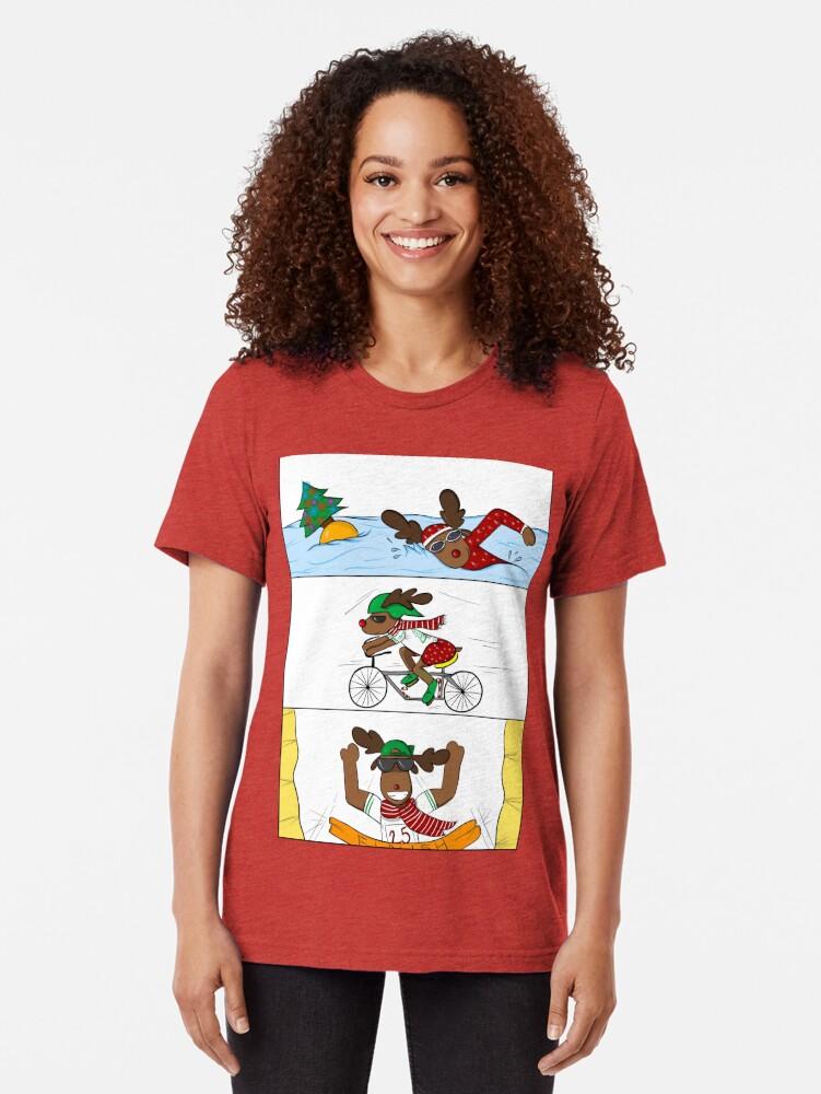 Alternative Ansicht von Christmathlon! Vintage T-Shirt