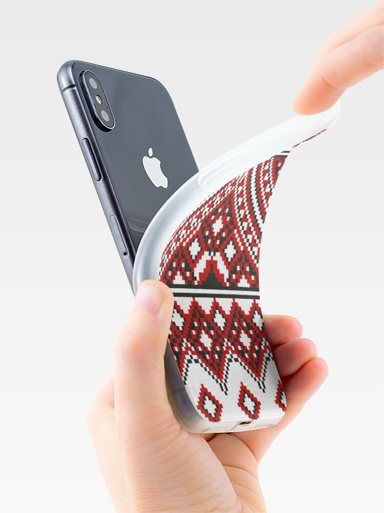 Alternate view of #Ukrainian #Embroidery, #CrossStitch, #Pattern iPhone Case & Cover