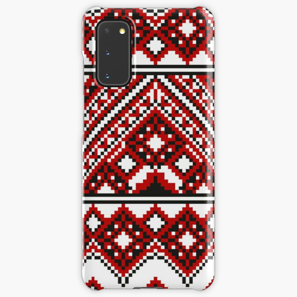 #Ukrainian #Embroidery, #CrossStitch, #Pattern Case & Skin for Samsung Galaxy