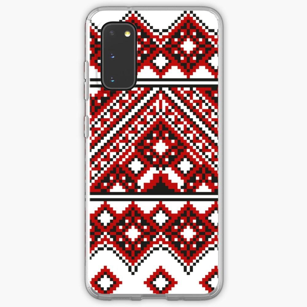 #Ukrainian #Embroidery, #CrossStitch, #Pattern Case & Skin for Samsung Galaxy