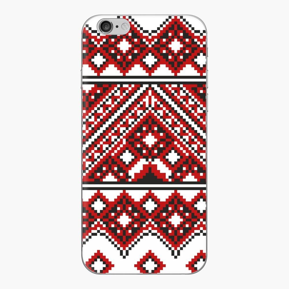#Ukrainian #Embroidery, #CrossStitch, #Pattern iPhone Skin