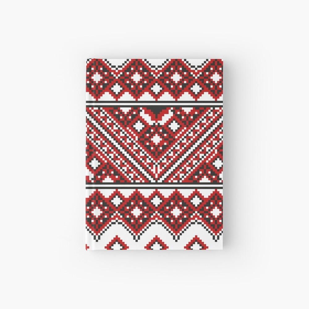 #Ukrainian #Embroidery, #CrossStitch, #Pattern Hardcover Journal
