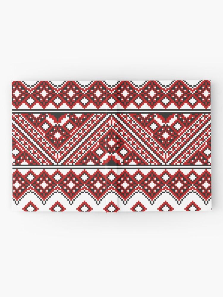 Alternate view of #Ukrainian #Embroidery, #CrossStitch, #Pattern Hardcover Journal