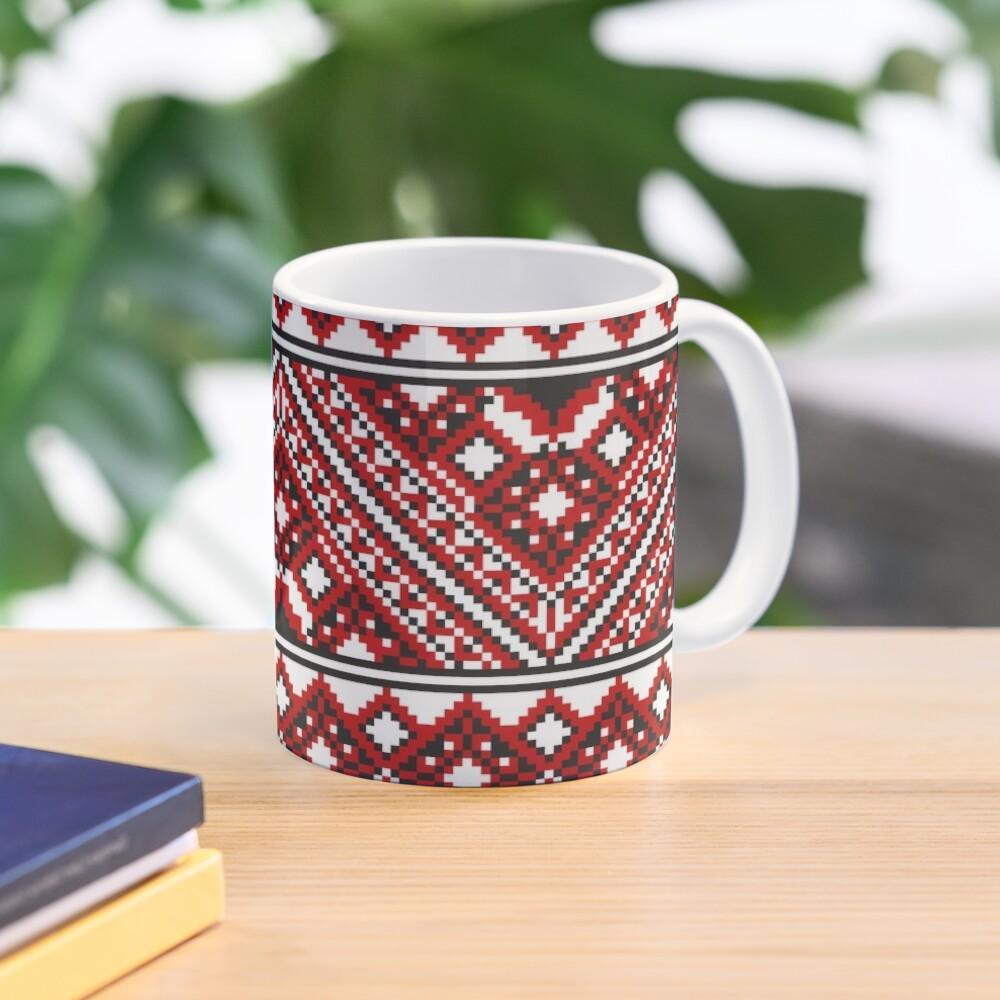 #Ukrainian #Embroidery, #CrossStitch, #Pattern Mug