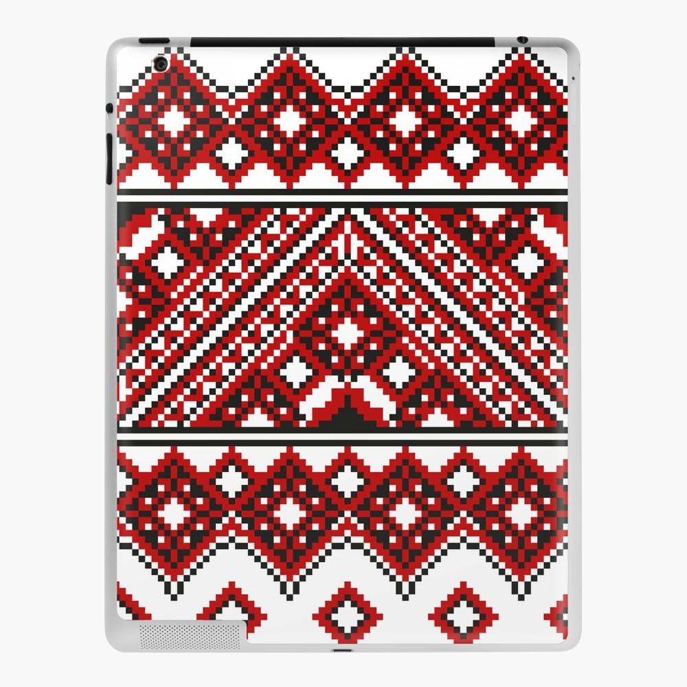 #Ukrainian #Embroidery, #CrossStitch, #Pattern iPad Case & Skin