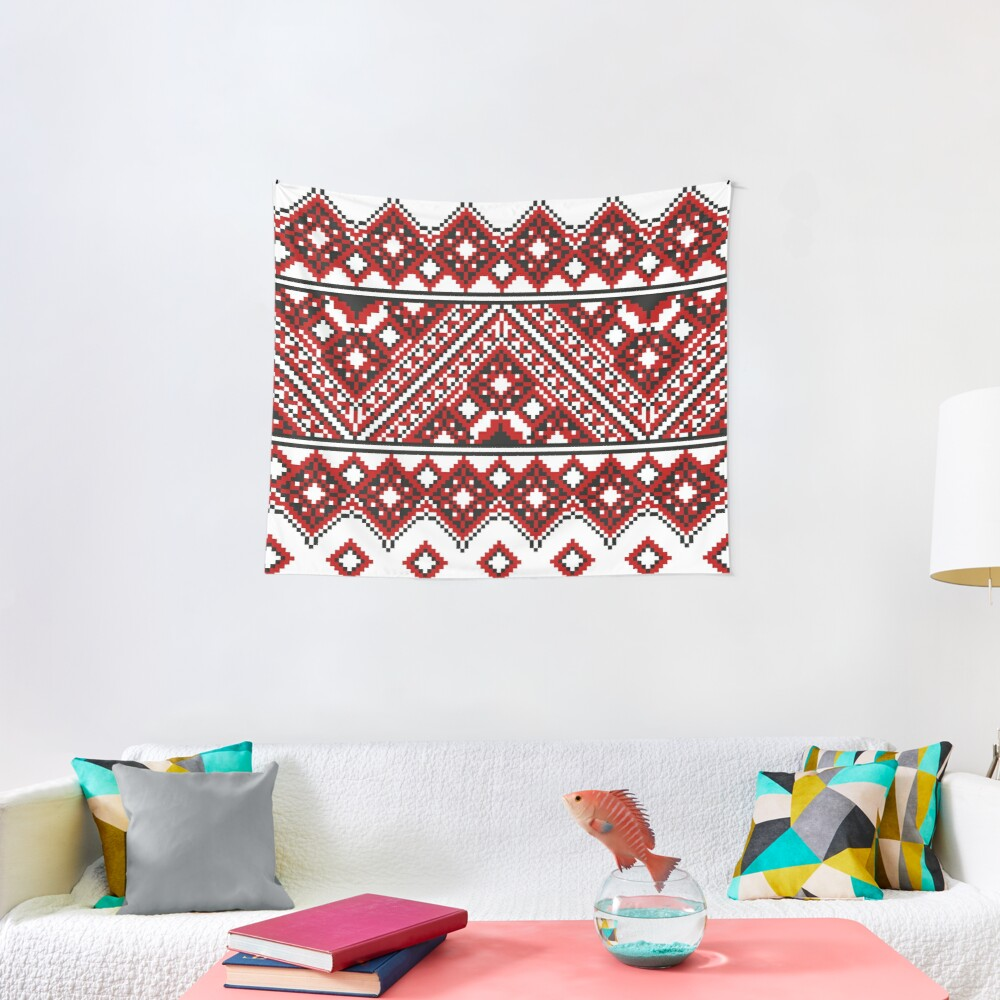 #Ukrainian #Embroidery, #CrossStitch, #Pattern Tapestry