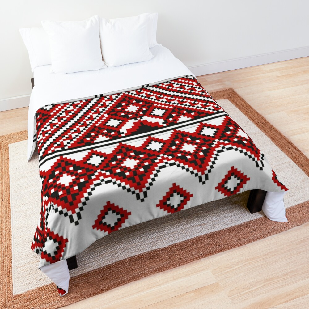 #Ukrainian #Embroidery, #CrossStitch, #Pattern Comforter