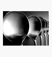 Soup Spoons - Still Life Photographic Print