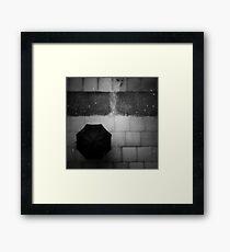 rain rain rain Framed Print