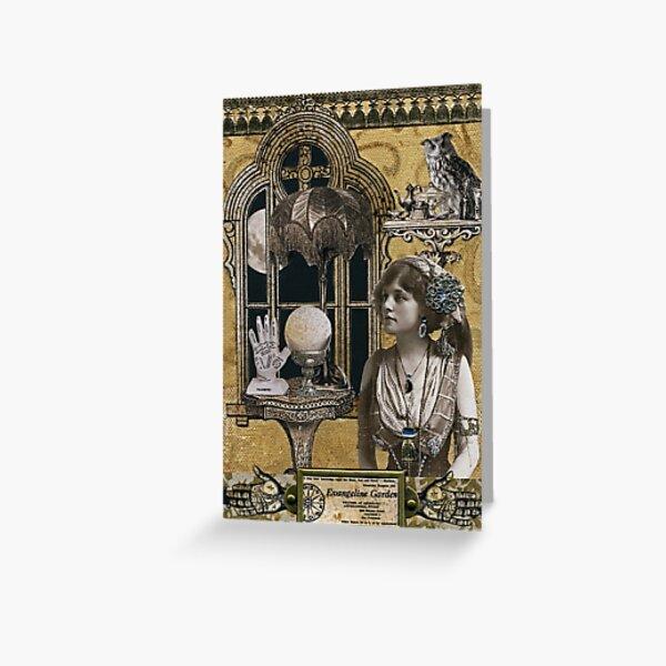 Evangeline Garden's Astrological Studio Greeting Card