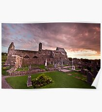 Corcomroe Abbey, Co. Clare Poster