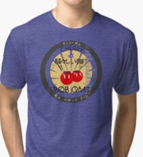 Cherry Bob Omb Fire Cracker Label Tri-blend T-Shirt
