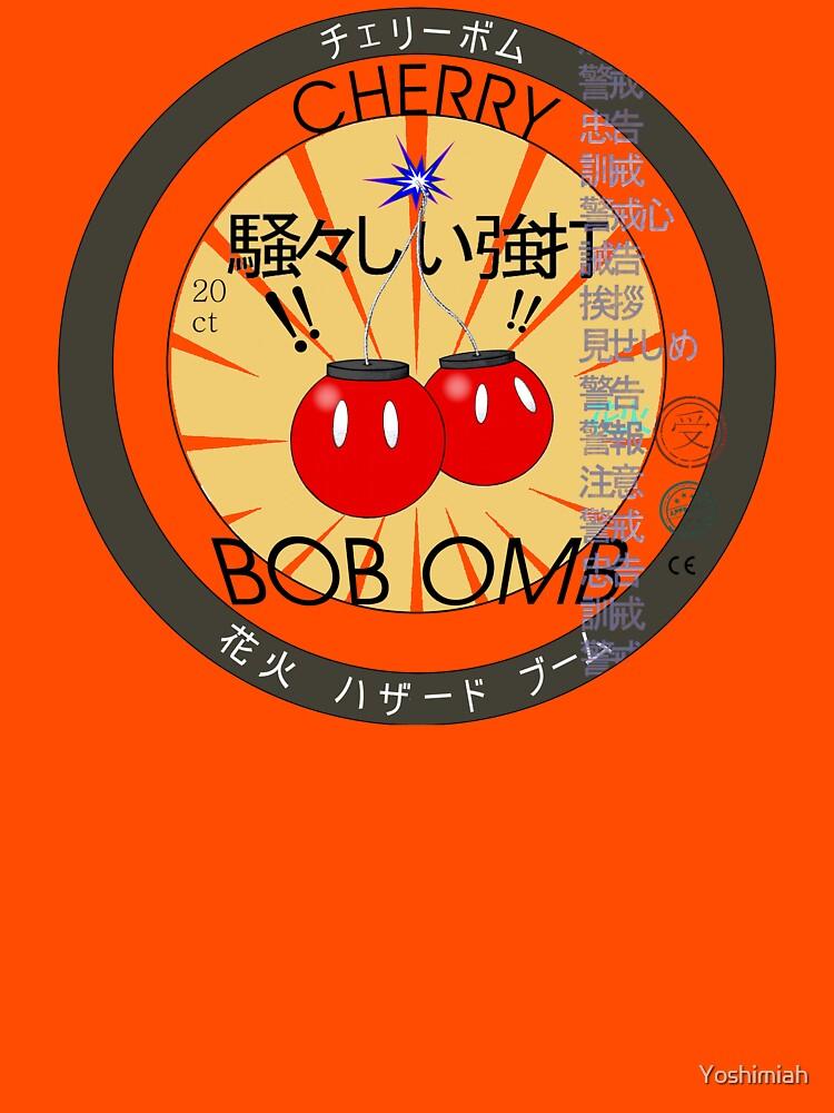Cherry Bob Omb Fire Cracker Label | Unisex T-Shirt