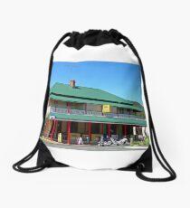 Club Hotel, Kilcoy, Queensland, Australia Drawstring Bag