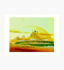 Towers of the Golden Dream Art Print