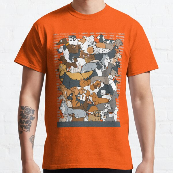 Dogs!!! Classic T-Shirt