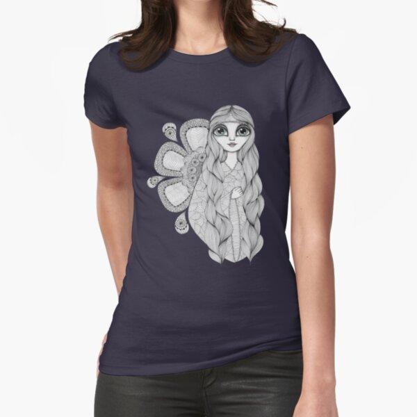 Sunshine Girl Fitted T-Shirt